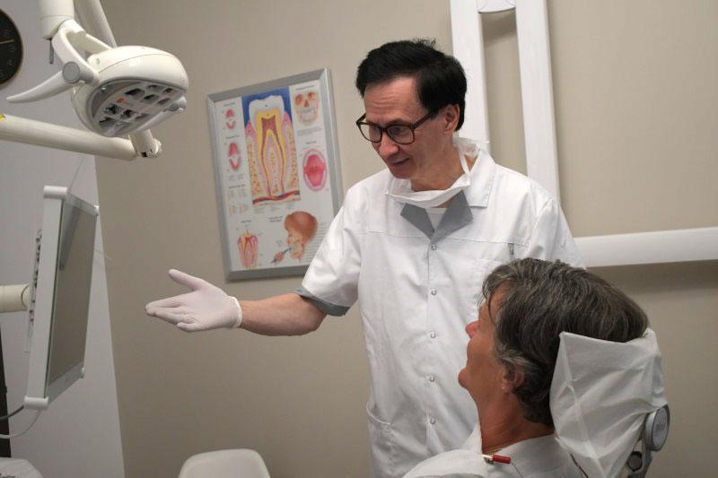 Dom tandartsen behandelkamer